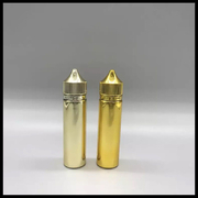 Wholesale 60ml Gold Chubby Gorilla Bottles With Childproof Tamper Caps And Long Thin Tip Dropper Bottles